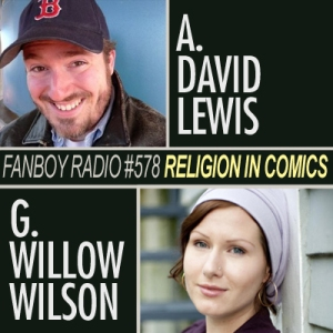 Talking Religion in Comics on Fanboy Radio
